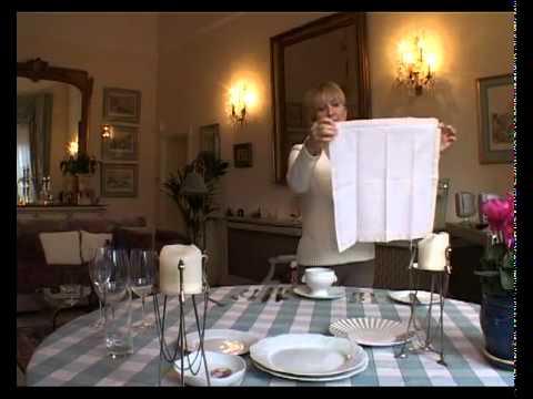 Европейский Обед. Правила сервировки стола