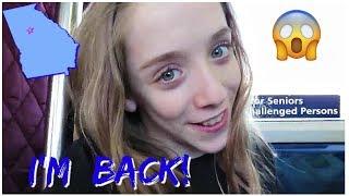 I'm Back!  Atlanta Vlogs