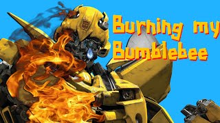 Burning my Bumblebee | Papercraft Tunisia