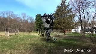 Робот Atlas возвращается с Евровидения.