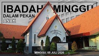 IBADAH MINGGU | PEKAN ANAK | 05 JULI 2020 | GKJW JEMAAT SURABAYA