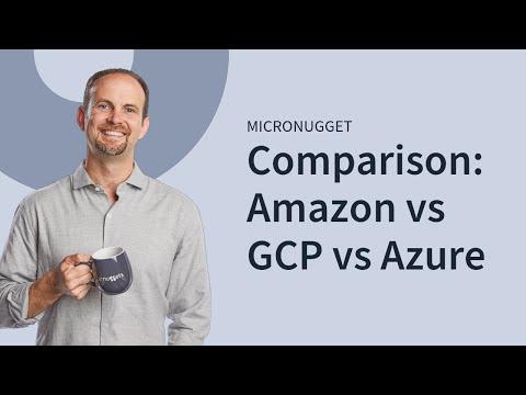 Cloud Comparison: Amazon (AWS) vs Google Cloud (GCP) vs Microsoft (Azure) | CBT Nuggetsиз YouTube · Длительность: 33 мин31 с
