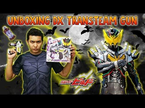 JOEKETSU! VAPORIZE! Unboxing DX Transteam Gun from Samurai Buyer - Kamen Rider Build - Night Rogue