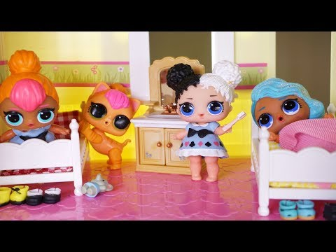 LOL SURPRISE DOLLS Silly Night Routine!