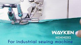 Класс 64 Как использовать Wayken Hemmer / Hem Folder для промышленных или педальных швейных машин.