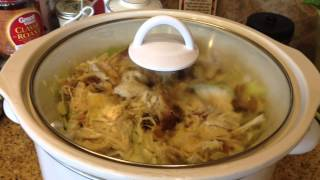 Low Carb Chicken & Cabbage Crockpot Recipe