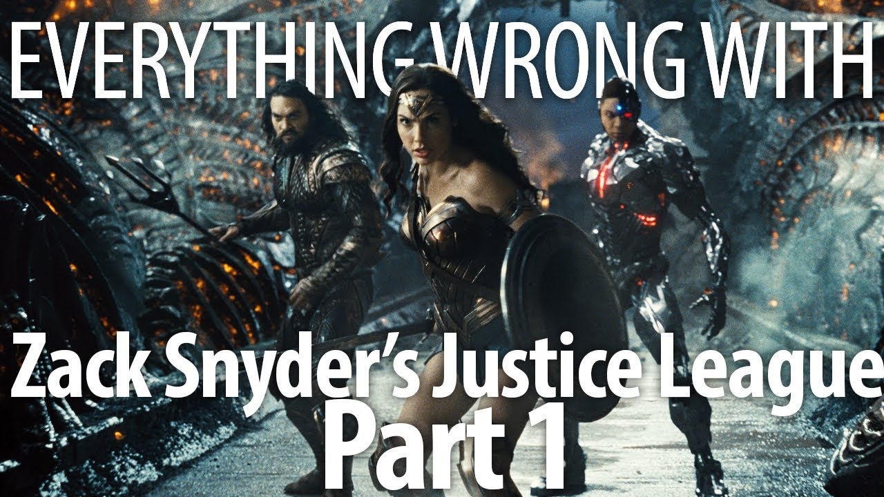 Download Everything Wrong With Zack Snyder's Justice League Part 1 In 22 Minutes Or Less