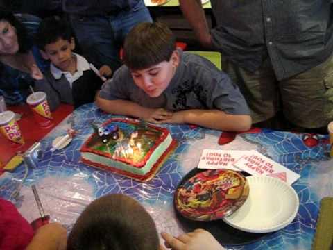 Happy Birthday to Joseph and Matthew!!!!   MVI_4261.AVI