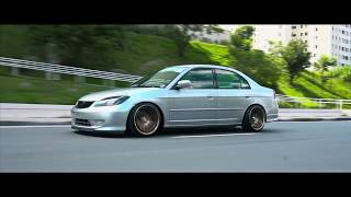 Honda Civic | Bagged Machine | Euro Stance in Brazil
