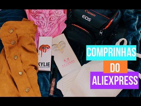 COMPRINHAS NO ALIEXPRESS 2016