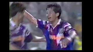 木村和司34歳 Jリーグ初ゴールは芸術ループ