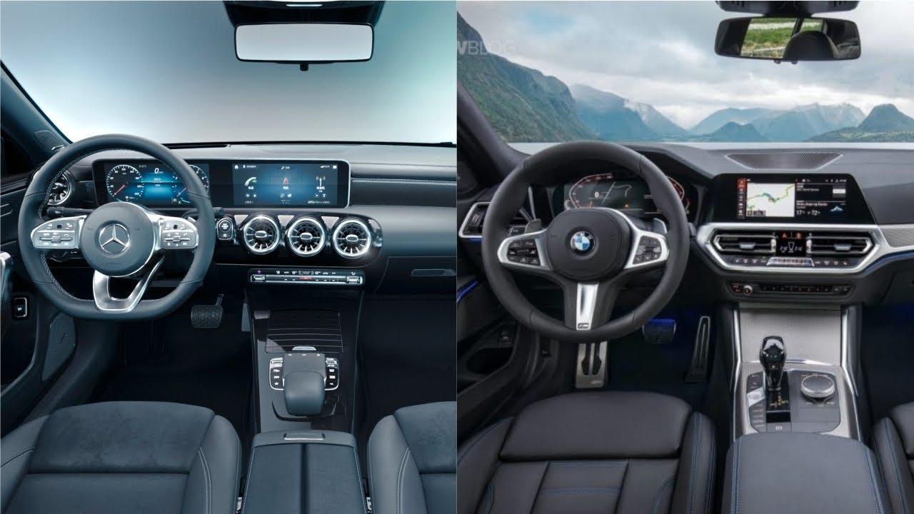 Mercedes A Class Vs Bmw 1 Series 2019 Interior Features