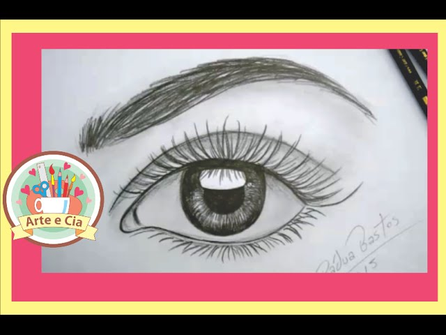 Aprenda Desenhar olhos 3