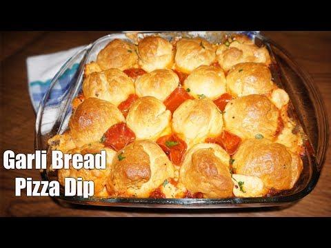 Easy Pull Apart Garlic Bread Pizza Dip
