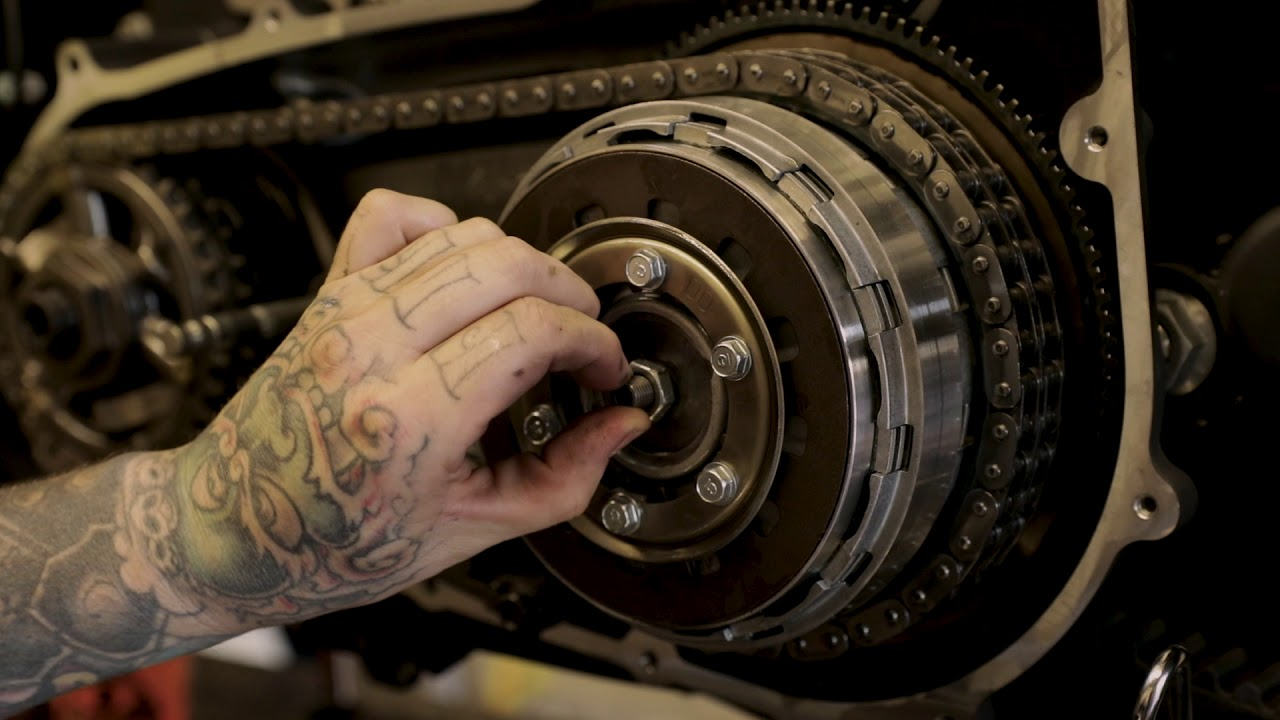 SPEED-KINGS INSTALL: KEVLAR CLUTCH PLATE INSTALL FOR DYNA