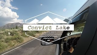 Convict Lake: July 2017 Mammoth Lakes, CA