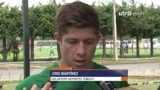 Formación de Deportes Temuco para enfrentar a Palestino | UFROVISIÓN