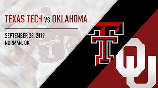 OU Highlights vs Texas Tech (9/28/2019)