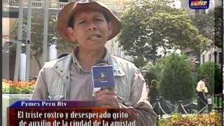 LA AUTORIDAD MUNICIPAL  ESTA AUSENTE Y EL SEGUNDO MERCADO MAYORISTA DEL PERÚ PIDE AUXILIO