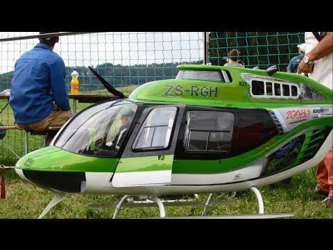 A.L.K 2014 Giant Jakadofsky Turbine Bell 206-B3 Jet Ranger R/C Helicopter