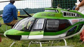 rc modellbau huge scale jet ranger bell 206 b3 turbine model r c helicopter