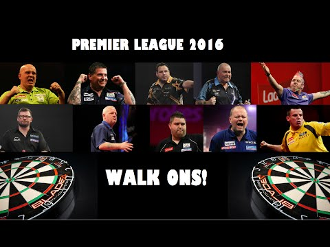 ALL Premier League Darts Walk Ons (2016)