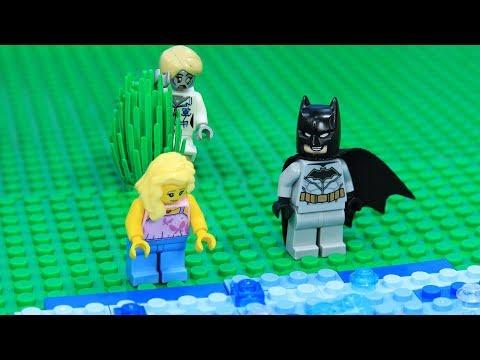 Lego Train Batman Escape from Zombie Attack Episode2