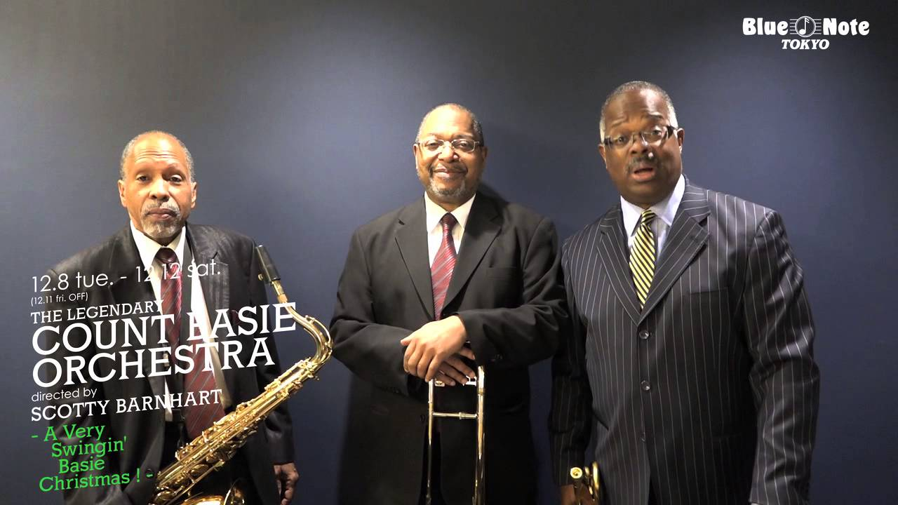 A Very Swinging Basie Christmas.The Legendary Count Basie Orchestra Blue Note Tokyo 2015 12 8 Tue