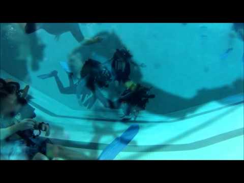 Awesome Activities | Rebreather Pool May2013