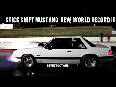 New Stick Shift Mustang  World Record