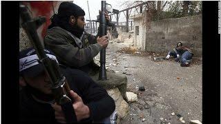СИРИЯ. Уникальные кадры перестрелки в режиме реального времени. Новости Сирии Сегодня Россия в Сирии