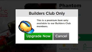 ROBLOX BUILDERS CLUB PRANK (For Real Life Friends)