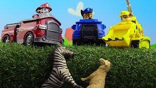 Видео с игрушками. Щенячий Патруль помог...