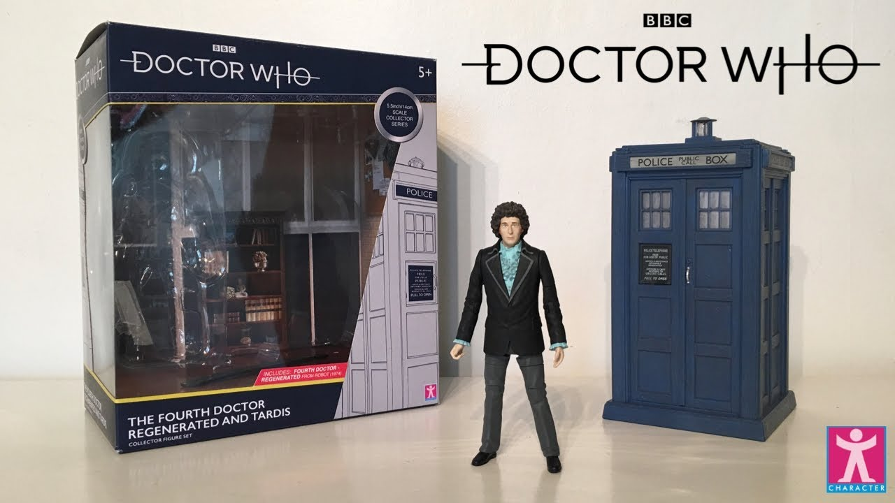 """Doctor Who The Fourth 4TH Doctor Regenerated Tom Baker ACTION FIGURE 5/"""""""