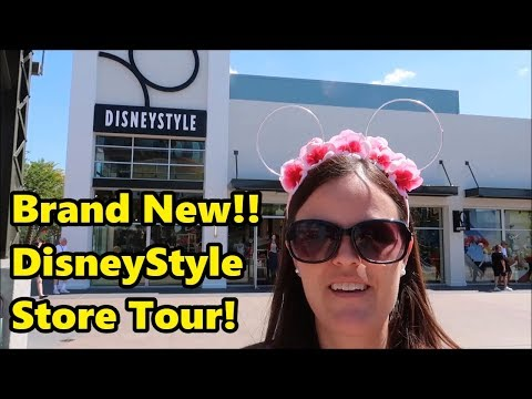 Brand New DisneyStyle Store at Disney Springs - May 2018 - Shopping with Jenna