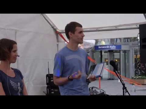 Vegan Street Day 2014 Dortmund: Vortrag von Katrin Schäfer & Daniel Roth