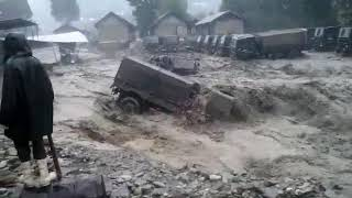 Army vehicle and camp washed away in flash flood in Arunachal Pradesh