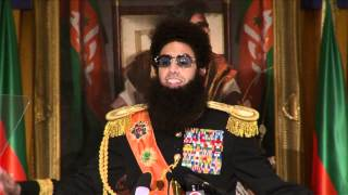The Dictator- New York Press Conference
