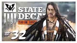 EDGED WEAPONS FTW! | State of Decay Gameplay Part 32 - Year One Survival Edition Walkthrough
