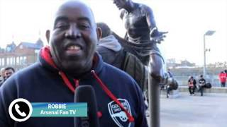 Arsenal Fan TV  Presenter Robbie Discusses Arsenal