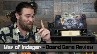 War for Indagar - Board Game Review