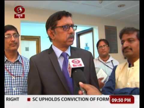 Prasar Bharati Chairman Dr. A. Suryaprakash addresses IIMC students