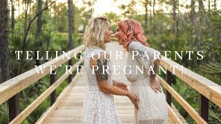 Telling Our Parents We're Pregnant WITH TWINS!