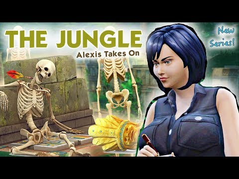 WE ARE GOING INTO THE JUNGLE! \ The Sims 4 JUNGLE ADVENTURE #1 \ JQLeeJQ |