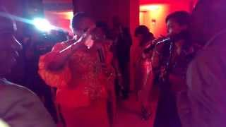 Onanome performs live with Onyeka onwenu