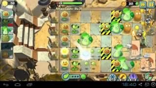 Plantas vs Zombies 2 - Antiguo Egipto Día 20 pc bluestacks