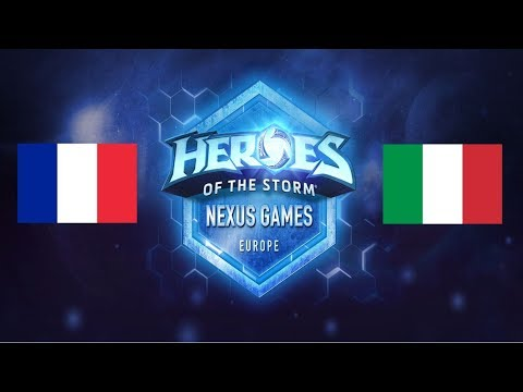 [Nexus Games] Groupe A: France vs Italie