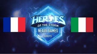 [Nexus Games] Groupe A: France vs Italie