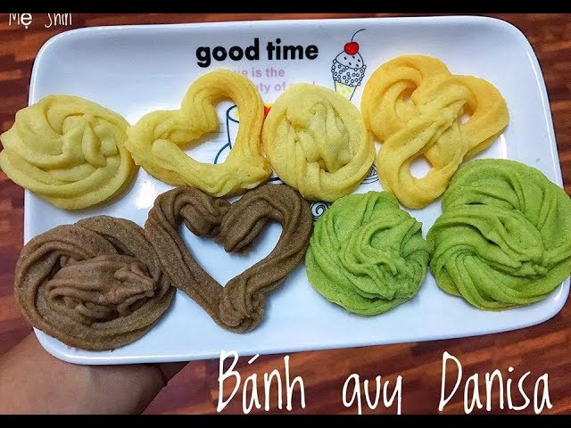 Cách Làm Món Bánh Quy Danisa Thơm Ngon Cho Bé Ăn Dặm
