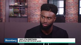 Boston Celtics\' Jaylen Brown on Tech, Investing and Education